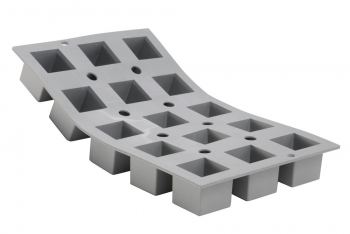 140x93 - Elastomoule cube De Buyer
