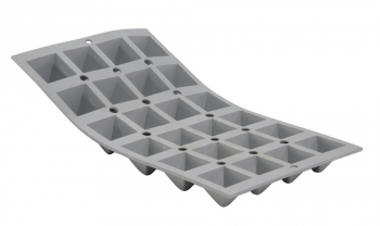 140x83 - Elastomoule mini-pyramides De Buyer